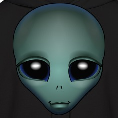 Alien Hoodie Cute Alien Grey Shirts ET Gifts