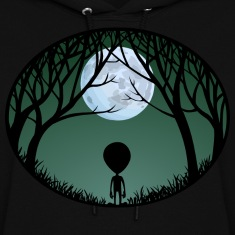 Alien Art Hooded Sweatshirt ET Hoodie Shirts