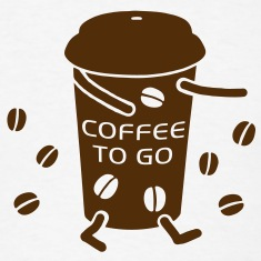 Coffee to go - V T-Shirts