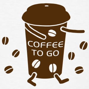 Coffee to go - V T-Shirts - Men's T-Shirt