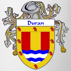 Duran Coat of Arms/Family Crest - Coffee/Tea Mug