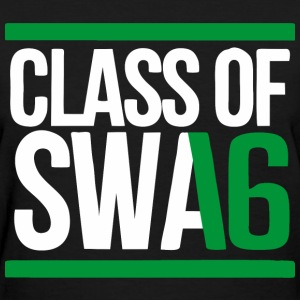 CLASS OF SWAG (2016) Green with bands Women's T-Shirts - Women's T-Shirt
