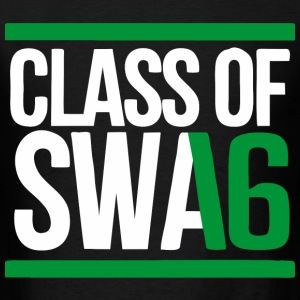 CLASS OF SWAG (2016) Green with bands T-Shirts - Men's T-Shirt