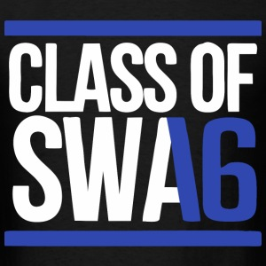 CLASS OF SWAG (2016) blue with bands T-Shirts - Men's T-Shirt