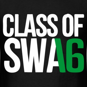 CLASS OF SWAG (2016) Green with no bands T-Shirts - Men's T-Shirt