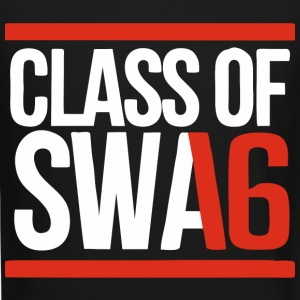 CLASS OF SWAG (2016) red with bands Long Sleeve Shirts - Crewneck Sweatshirt