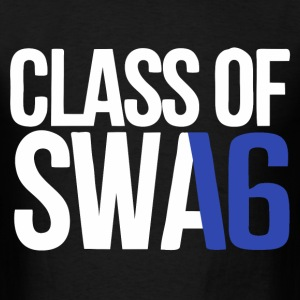 CLASS OF SWAG (2016) blue with no bands T-Shirts - Men's T-Shirt