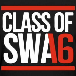 CLASS OF SWAG (2016) red with bands Women's T-Shirts - Women's T-Shirt
