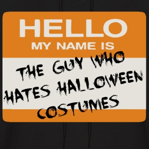 Halloween Tag (Guy) Hoodies - Men's Hoodie