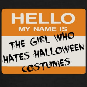 Halloween Tag (Girl) Women's T-Shirts - Women's T-Shirt