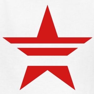 SHARP shape red star stylish stylised  Kids' Shirts - Kids' T-Shirt