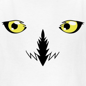 REALISTIC snowy owl eyes very effective!  Kids' Shirts - Kids' T-Shirt