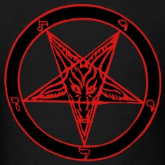 Baphomet 2 Color T-Shirts
