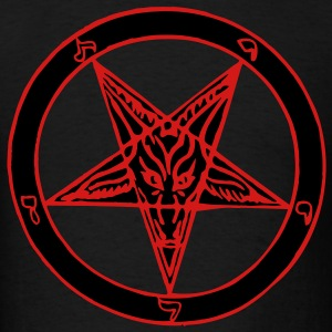 Baphomet 2 Color T-Shirts - Men's T-Shirt