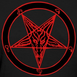 Baphomet 2 Color Women's T-Shirts - Women's T-Shirt