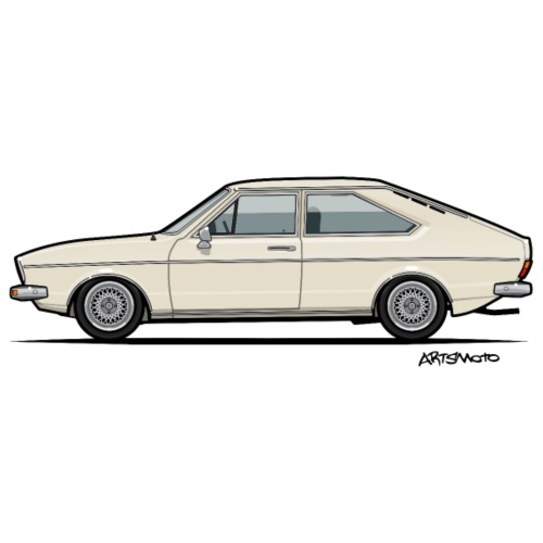 Dasher Passat Coupe B1 Kansas Beige