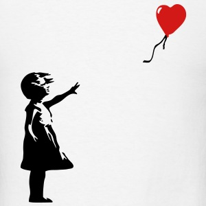 KCCO - Balloon Girl Banksy T-Shirts - Men's T-Shirt
