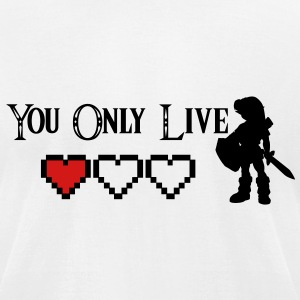 You Only Live Once - Young Link Zelda - KCCO T-Shirts - Men's T-Shirt by American Apparel