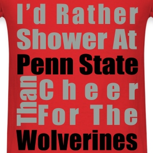 I'd rather shower - Men's T-Shirt