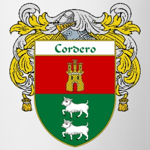 Cordero Coat of Arms/Family Crest - Coffee/Tea Mug