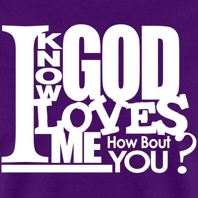 God Loves Me - Men