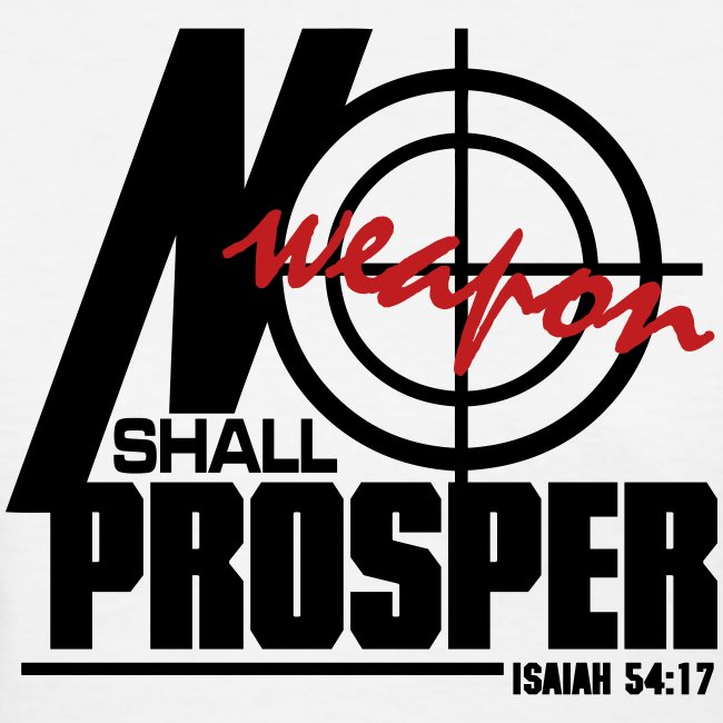 No Weapon Shall Prosper - Women