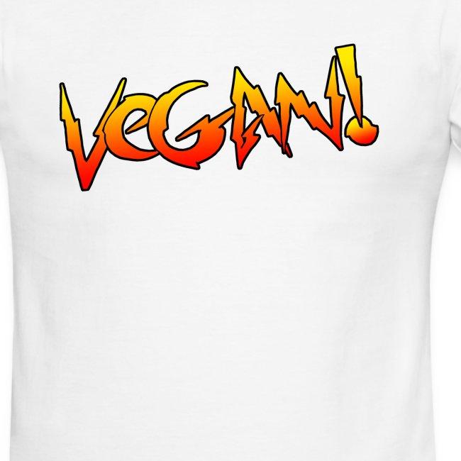 Vegan Hot Rod - Unisex Ringer