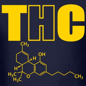 thc marijuana T-Shirts - Men's T-Shirt