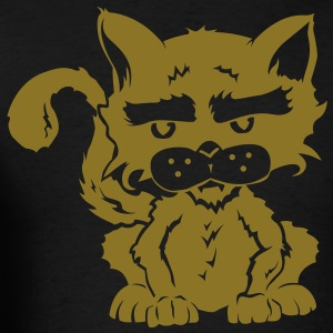 Evil Kitty Gold Edition - Men's T-Shirt