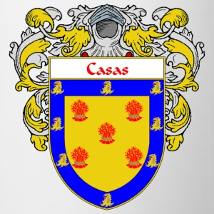 Casas Coat of Arms/Family Crest - Coffee/Tea Mug