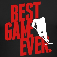 Ice hockey - best game ever Long Sleeve Shirts