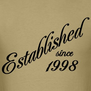 Established since 1998 T-Shirts - Men's T-Shirt