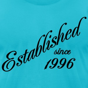 Established since 1996 T-Shirts - Men's T-Shirt by American Apparel