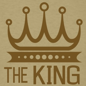 The King Men's T-Shirts - Men's T-Shirt
