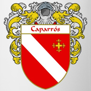 Caparrós Coat of Arms/Family Crest - Coffee/Tea Mug
