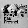 Lon Grohs - Everything has Fresnel - Gray - Women's - Women's V-Neck T-Shirt