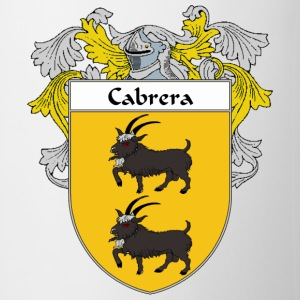 Cabrera Coat of Arms/Family Crest - Coffee/Tea Mug