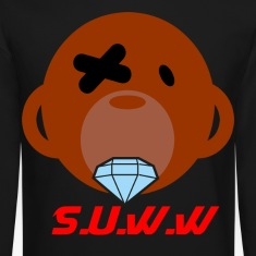 S.U.W.W Diamond Monkey Crewneck