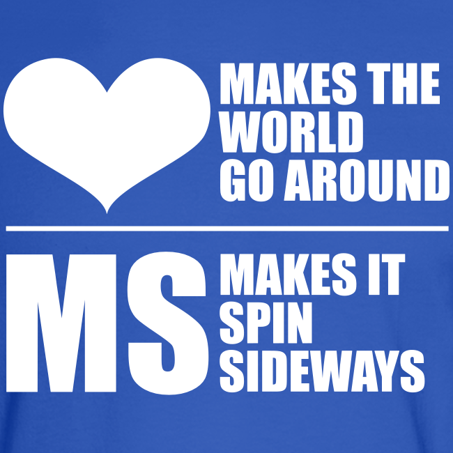 MS Makes the World Spin - Men's Long Sleeve