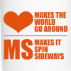 MS Makes the World Spin - Travel Muig - Travel Mug