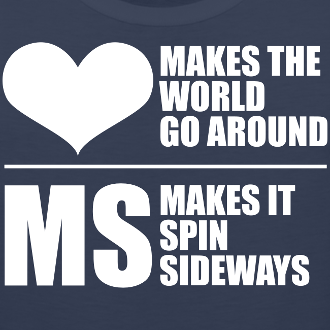 MS Makes the World Spin - Men's Tank Top