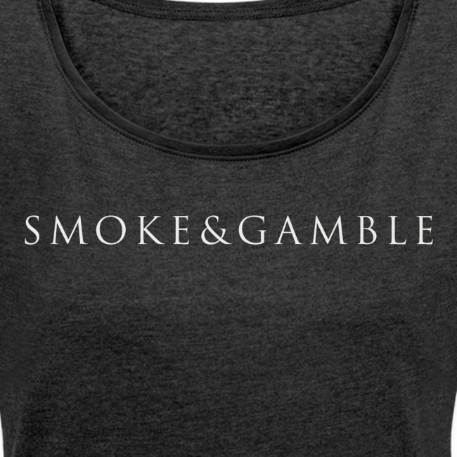 Smoke&Gamble Ladies Roll Cuff T-shirt