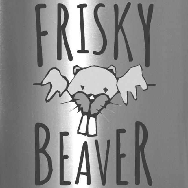 Frisky Beaver Travel Mug