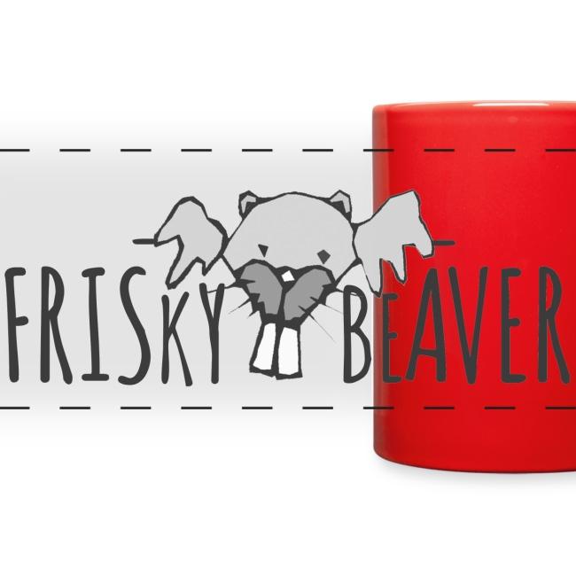 Frisky Beaver Pano Mug