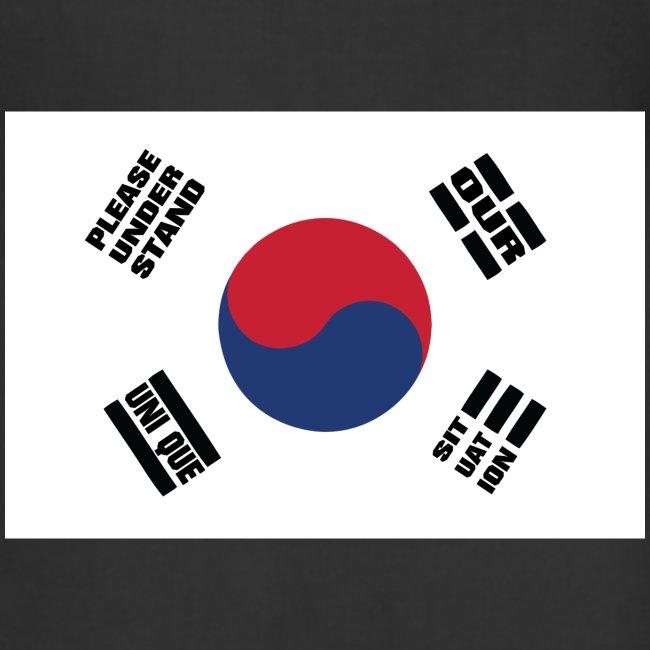 Korea's Unique Situation Apron