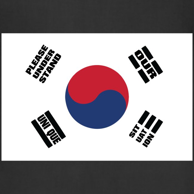 Korea's Unique Situation Apron