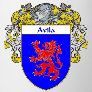 Avila Coat of Arms/Family Crest - Coffee/Tea Mug