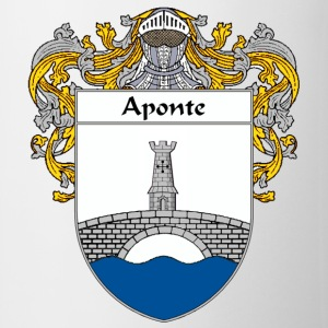 Aponte Coat of Arms/Family Crest - Coffee/Tea Mug
