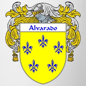Alvarado Coat of Arms/Family Crest - Coffee/Tea Mug