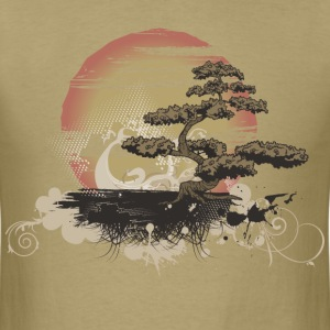 Bonsai Scene T-Shirts - Men's T-Shirt
